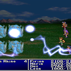 Bolt3 cast on the enemy party in <i><a href=