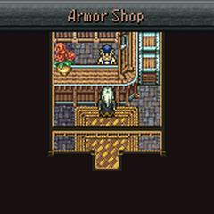 Maranda's armor shop (GBA).