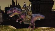 FFXIV Mount Tyrannosaur