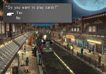 Kiros card location in Deling City from FFVIII Remastered