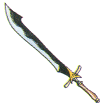 Serpent Sword FFIII Art
