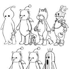 Mascot dressphere concepts.