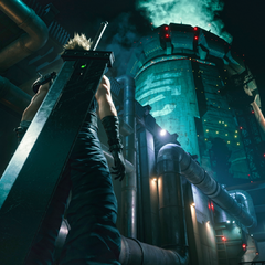 Makou Reactor 1 in <i>Final Fantasy VII Remake</i>.