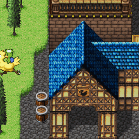 Chocobo Riding Imp