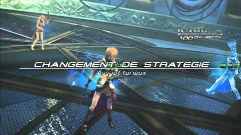 Final Fantasy XIII Combat contre Barthandelus 3