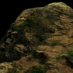 <i>Final Fantasy VII</i> field scene for a cutscene.