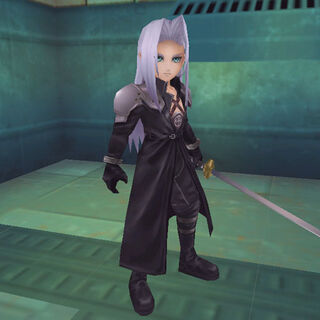 Sephiroth in <i>Rampage Land Rankers</i>