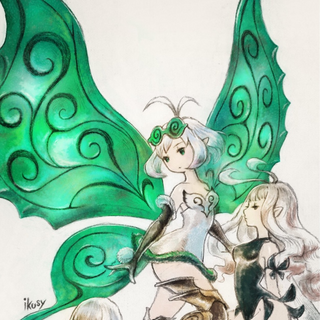 Artwork of three Cryst-fairies (Rinne, Airy and Anne).
