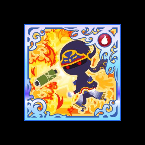 Flame Scroll. (SSR+)