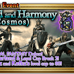 Global event banner for Discord and Harmony (Cosmos).