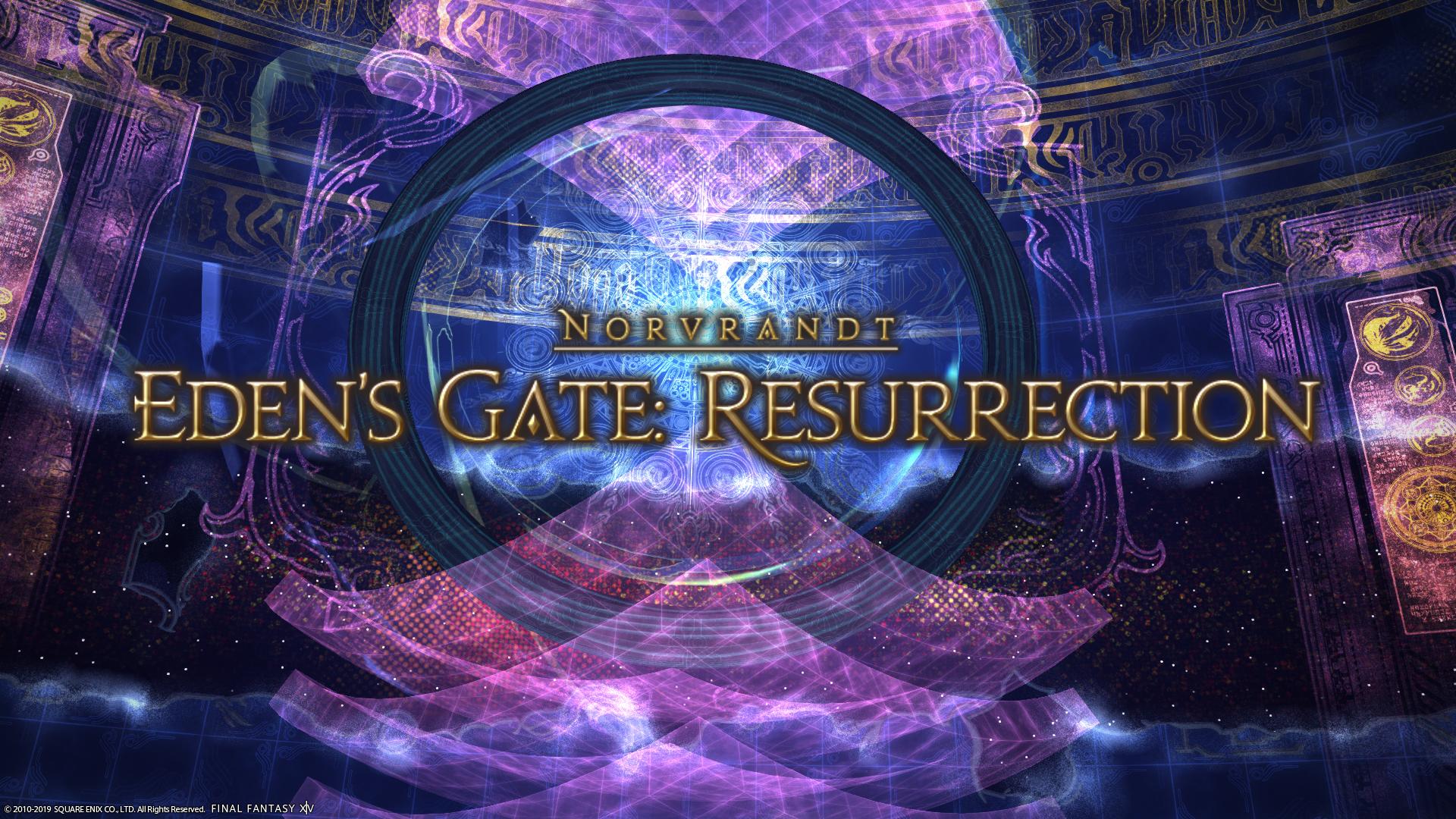 Eden's Gate: Resurrection | Final Fantasy Wiki | FANDOM