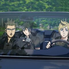 The party driving.