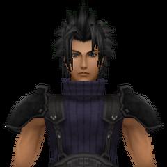 Модель Зака 2-ого класса в <i>Crisis Core -Final Fantasy VII-</i>.