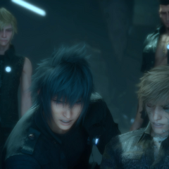 Noctis saves Ignis in Verse 2 of <i>Episode Ignis</i>.