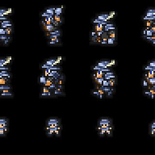 Set of Steiner's sprites.