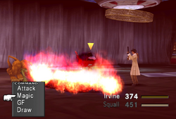 FFVIII Magma Breath