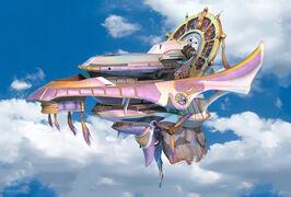 FFX-airship