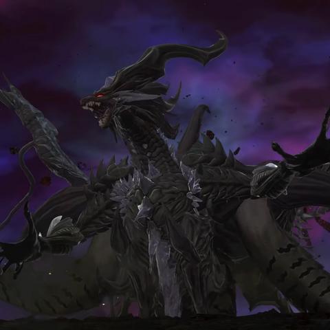 Shinryu's final form in <i>Dissidia Final Fantasy NT</i>.