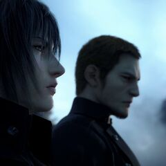 Noctis and Cor in the E3 2013 trailer.