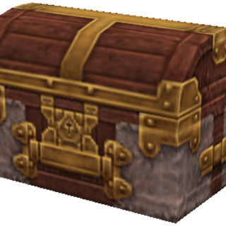 Normal treasure chest.