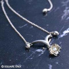 Yuna's necklace.