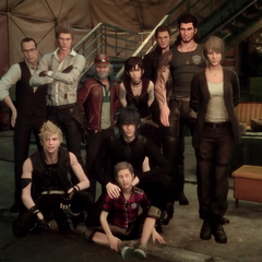 Gentiana appears in a group photo.