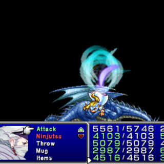 <i>Final Fantasy IV: The After Years</i> (PSP).