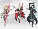 FFBE character artwork Amano