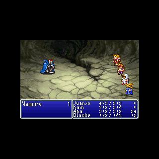A batalha em <i>Dawn of Souls</i>.