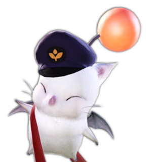 Delivery Moogle render.