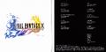FFX C Booklet