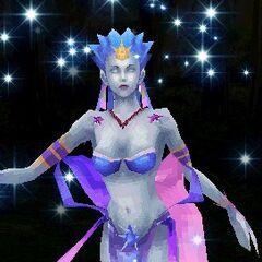 Шива в DS-версии <i>Final Fantasy III</i>.