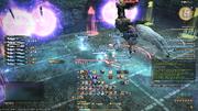 Fulmination from FFXIV Gallop knockback screenshot