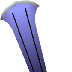 In-game model of Rune Blade from <i><a href=