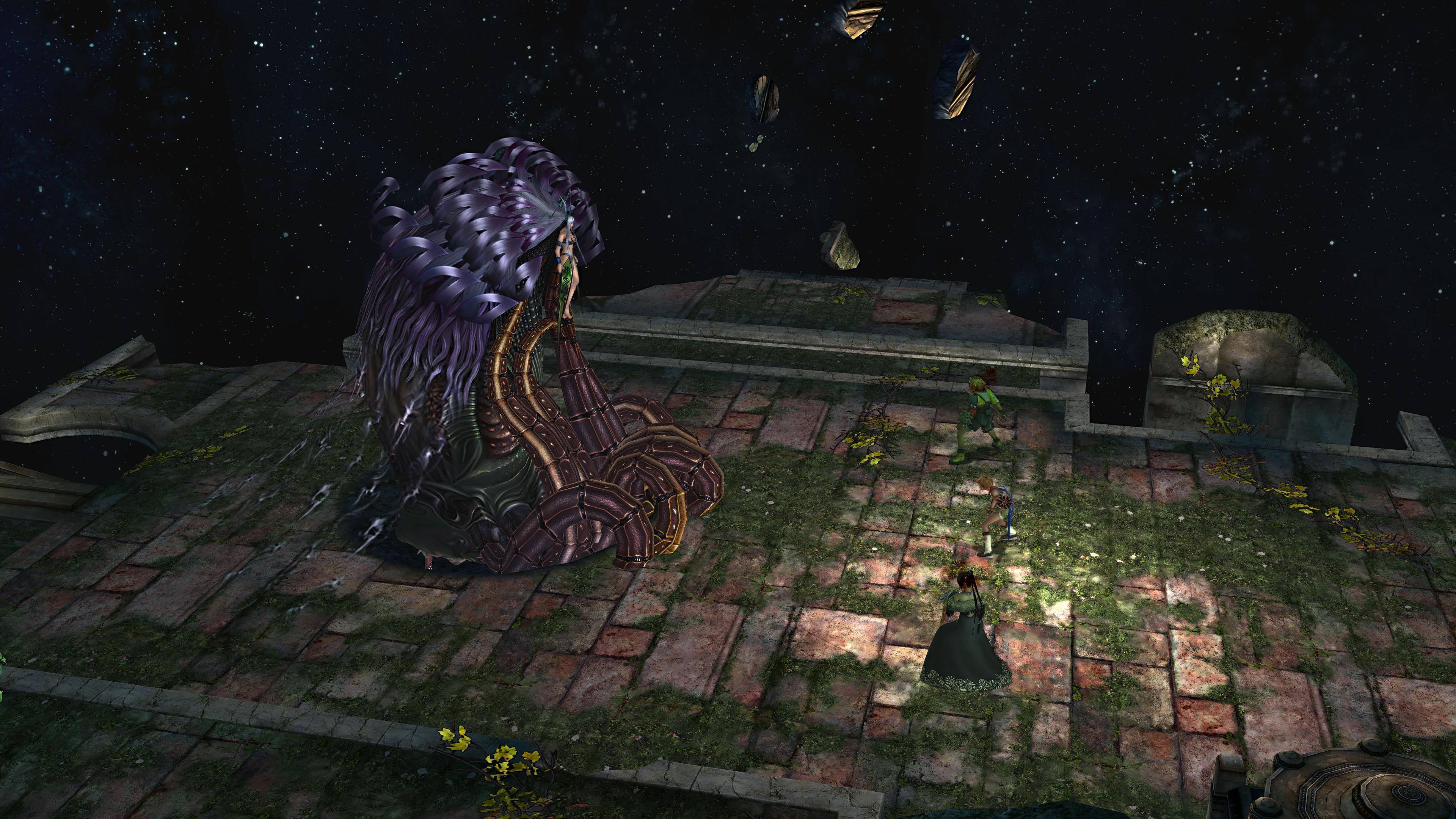Image - Yunalesca boss second form.jpg   Final Fantasy ...