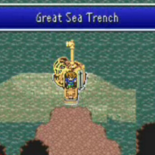 Entering the Great Sea Trench (GBA).