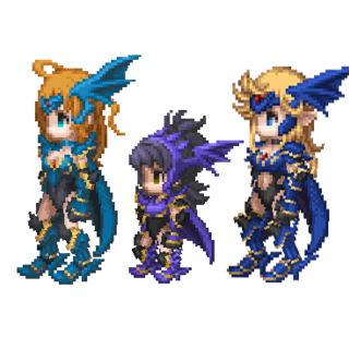 Dragoon outfit.