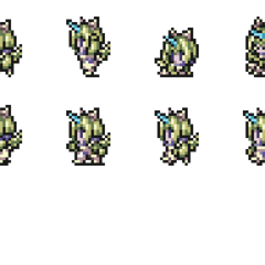 Set of Eiko's Trance sprites.