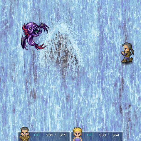 Сражение с Ризопасом в версии игры для <a href=