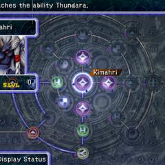 Kimahri's Sphere Grid (PS2).