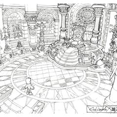 Throne Room concept art.