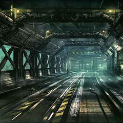 Corkscrew Tunnel.
