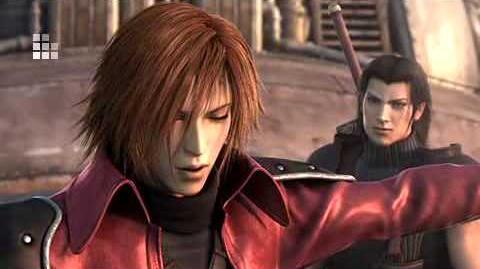 Crisis Core Final Fantasy Sephiroth Fight 2 CGI Cutscene