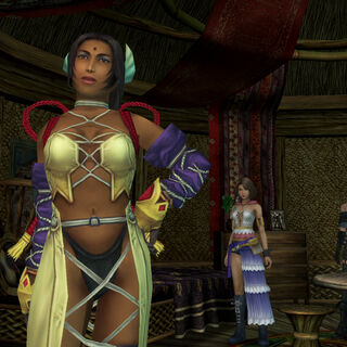 Dona in <i>Final Fantasy X-2</i>.