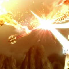 Clash of l'Cie, Zhuyu versus Nimbus.