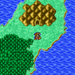 Matoya's Cave on the overworld (GBA).