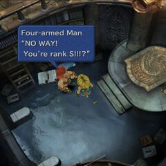 Gilgamesh se surpreende com o Rank S.