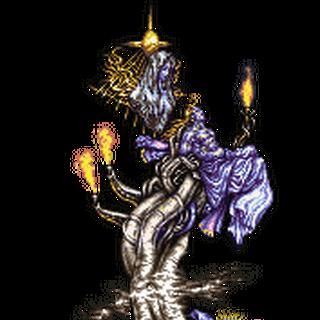 Спрайт Башни (Статуи) Богов в оригинальных японской и английской версиях игры для <a href=
