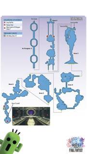 WoFF EX Dungeon Z Map