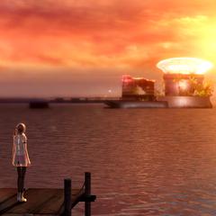 Bodhum's famous sunset.
